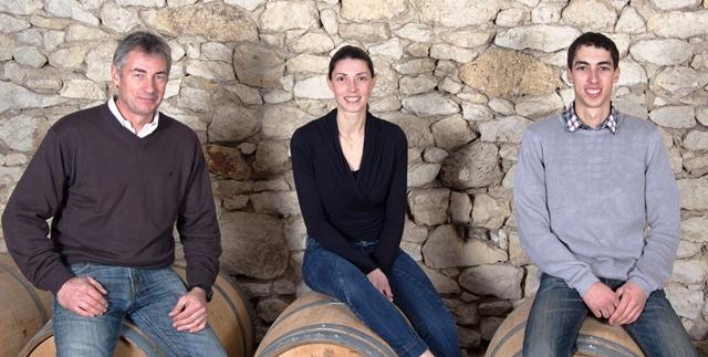 Jean-Pierre, Mélissa & Loc BERGEY, Viticulteurs-Oenologue